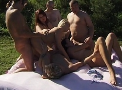 dominate gangbang party