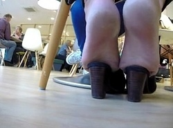 Foodcourt Mules - nearly sexy videos on my profile