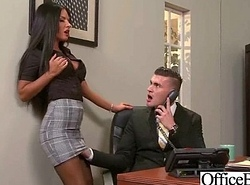 Intercorse On Camera Connected with Big Funbag Knockers Office Girl (elicia solis) movie-13