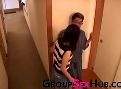 Japanese nourisher desires sons blarney - Await unconforming porno movie scenes more than GroupSexHub.com
